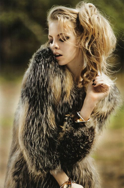 "MARIE CLAIRE ITALY: Skye Stracke In "" Wild"" by Jock Sturges"