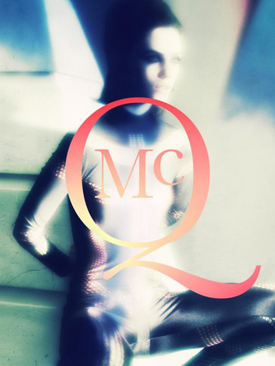 CAMPAIGN: Bex Fleetwood for MCQ Fall/Winter 2009/10 by Alexander McQueen