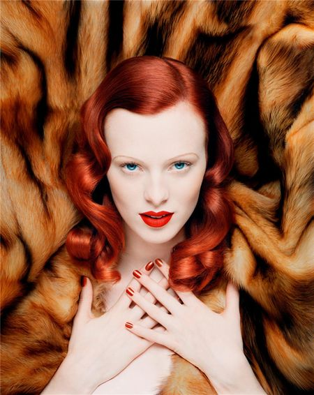 FASHION PHOTOGRAPHY: Karen Elson by Sølve Sundsbø