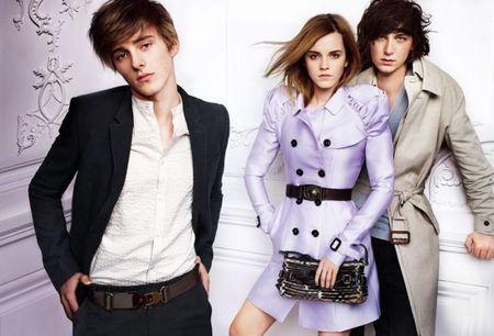 CAMPAIGN: Emma Watson for Burberry Spring 2010 by Mario Testino