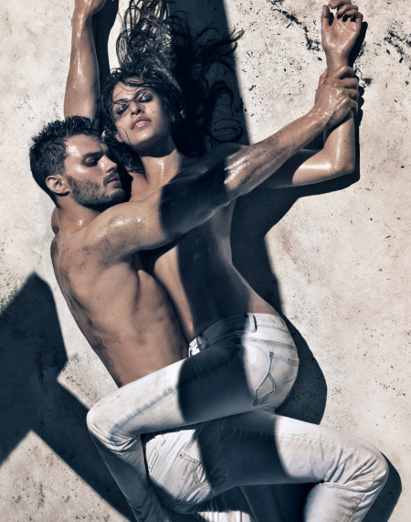 CAMPAIGN: Jamie Dornan and Eva Mendes for Calvin Klein Jeans Spring/Summer 2010 by Steven Klein