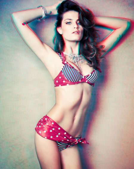 VOGUE MEXICO Isabeli Fontana in 3D by Jacques Dequeker. Image Amplified www.imageamplified (2)