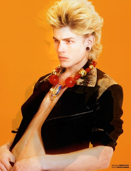 THE ONES2WATCH MAGAZINE Luke Worrall in Amber by Dimitris Theocharis. Image Amplified www.imageamplified (2)