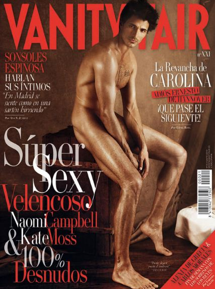 VANITY FAIR SPAIN Andres Velencoso Segura Nude by Giampaolo Sgura. Image Amplified www.imageamplified.com
