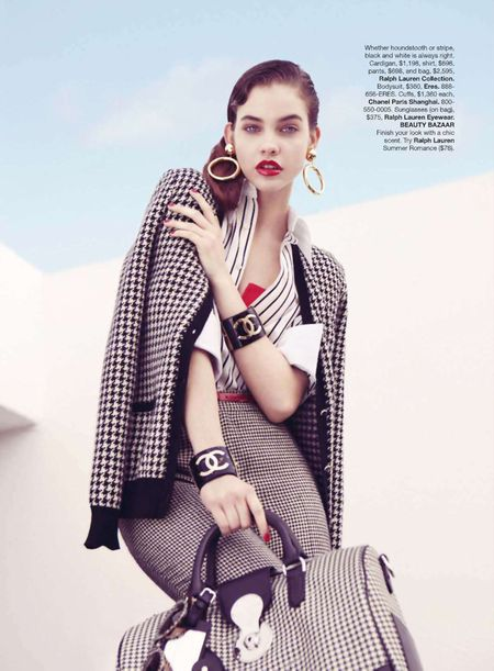HARPER'S BAZAAR Barbara Palvin in New Collections Preview by Benjamin Alexander Huseby. Image Amplified www.imageamplified (9)