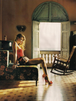 VOGUE UK Angela Lindvall in Viva Cuba by Tom Craig. www.imageamplified.com, Image Amplified (2)
