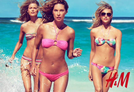 CAMPAIGN Daria Webowy, Sasha Pivarova, Julia Stegner & Lara Stone for H&M's Swimwear Collection Summer 2010 by Patrick Demarchelier. www.imageamplified.com, Image Amplified (6)