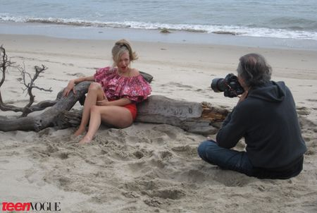 BEHIND THE SCENES Amanda Seyfried for JuneJuly's Teen Vogue by Patrick Demarchelier. www.imageamplified.com, Image Amplified (1)