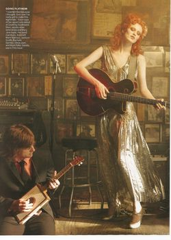 VOGUE Karen Elson & jack White in Frock & Roll by Annie Leibovitz. www.imageamplified.com, Image Amplified (3)