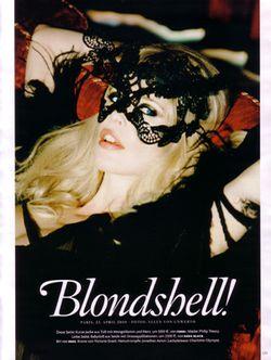VOGUE GERMANY Claudia Schiffer in Blondshell! Ellen von Unwerth. www.imageamplified.com, Image Amplified (8)