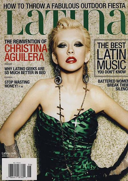 LATINA MAGAZINE Christina Aguilera by Ellen von Unwerth. www.imageamplified.com, Image Amplified (2)