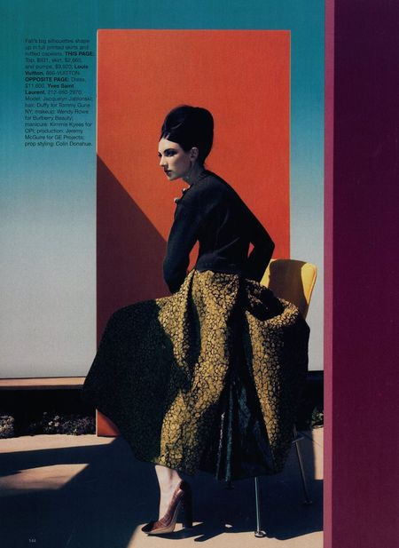 HARPER'S BAZAAR MAGAZINE Jacquelyn Jablonski in What's Next by Camilla Akrans. www.imageamplified (2)