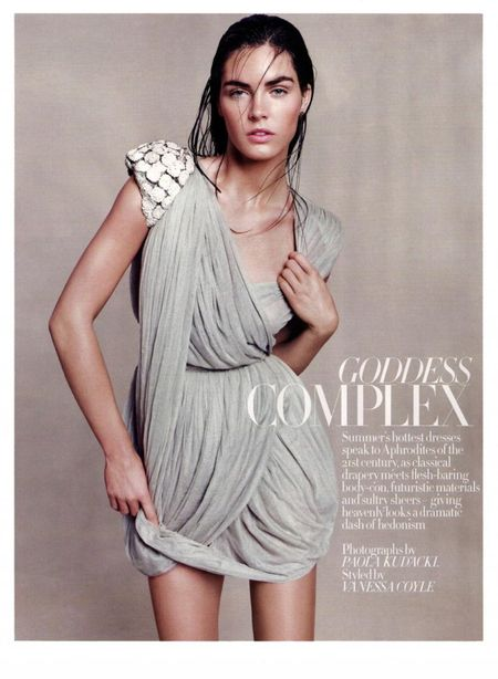 HARPER'S BAZAAR UK Hilary Rhoda in Goddess Complex by Paola Kudacki. www.imageamplified.com, Image Amplified (10)