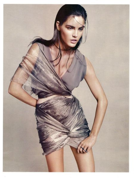 HARPER'S BAZAAR UK Hilary Rhoda in Goddess Complex by Paola Kudacki. www.imageamplified.com, Image Amplified (6)