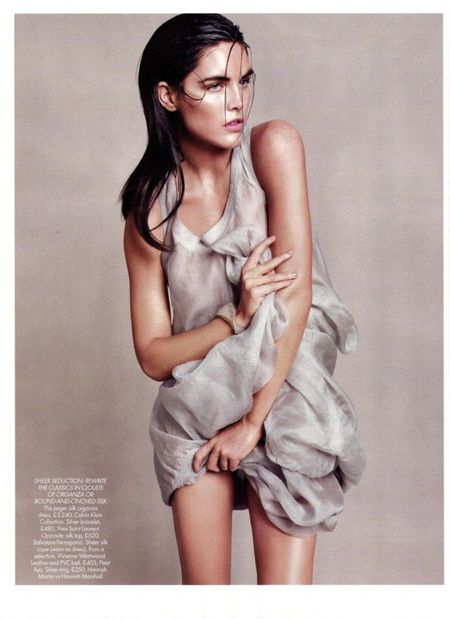 HARPER'S BAZAAR UK Hilary Rhoda in Goddess Complex by Paola Kudacki. www.imageamplified.com, Image Amplified (5)