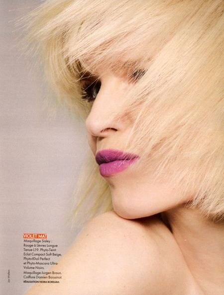 ELLE FRANCE Eva Herzigova in Pop Collection by Jan Welters (3)