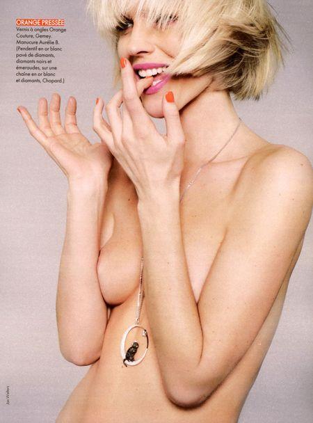 ELLE FRANCE Eva Herzigova in Pop Collection by Jan Welters (5)