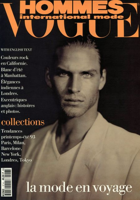 TIME CAPSULE David Boals in Vogue Hommes France SpringSummer 1993 by Paolo Roversi. www.imageamplified.com, Image Amplified (6)