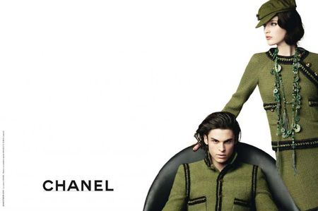 CAMPAIGN Baptiste Giabiconi & Mirte Maas for Chanel Pre-Fall 2010 by Karl Lagerfeld. www.imageamplified.com, Image Amplified (1)