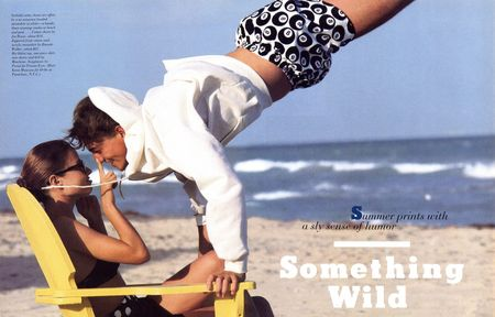 TIME CAPSULE Swiggy Drummond in Something Wild for GQ Magazine, SpringSummer 1988 by Sacha. www.imageamplified.com, Image Amplified (1)