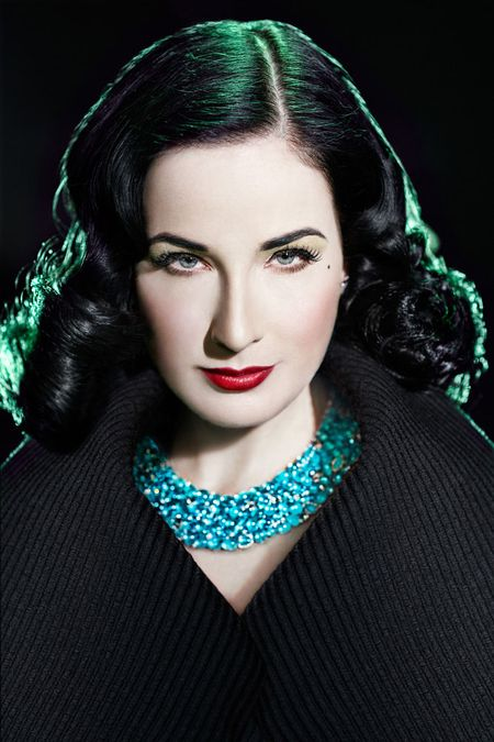 GENLUX MAGAZINE Dita Von Teese in A Shady Green by BrakhaX2. Shiffy Kegan, Fall 2010, www.imageamplified.com, Image Amplified (6)
