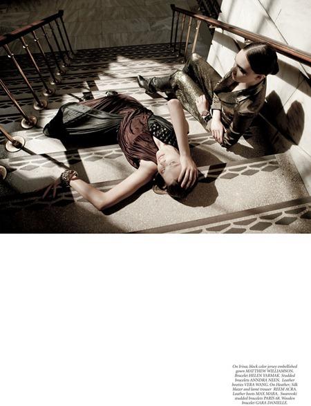 DRESS TO KILL MAGAZINE Irina Vodolazova & Heather in New York Spirit by Karine Basilio. Tammy Eckenswiller. www.imageamplified.com, Image Amplified (3)