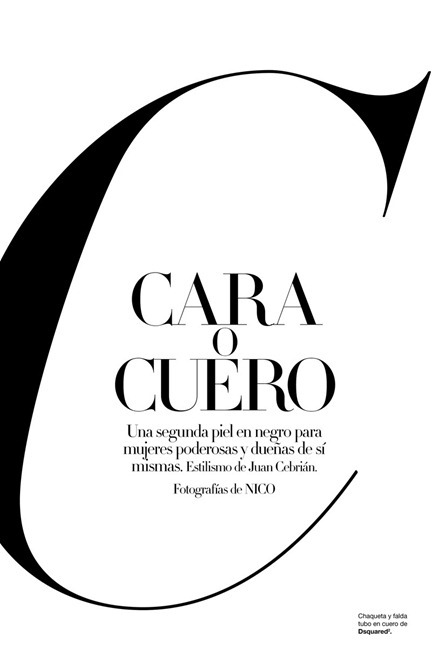 HARPER'S BAZAAR SPAIN Eniko Mihalik & Brad Kroening in Cara o Cuero by Nico. Juan Cebrian, October 2010, www.imageamplified.com, Image Amplified (11)