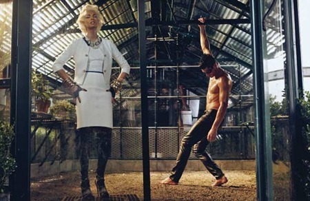 STYLE REWIND Tyson Ballou & Linda Evangelista in LoveHate for W Magazine, October 2008 by Steven Klein. Camilla Nickerson, www.imageamplified.com, Image Amplified (9)