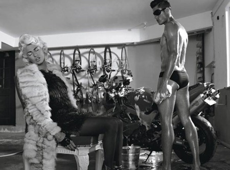 STYLE REWIND Tyson Ballou & Linda Evangelista in LoveHate for W Magazine, October 2008 by Steven Klein. Camilla Nickerson, www.imageamplified.com, Image Amplified (1)