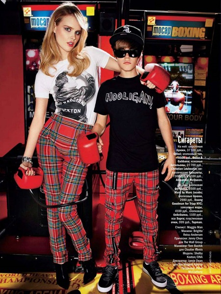 GLAMOUR RUSSIA Shelby Keeton & Justin Bieber in Lady Baby by Dewey Nicks. October 2010, www.imageamplified.com, Image Amplified (5)
