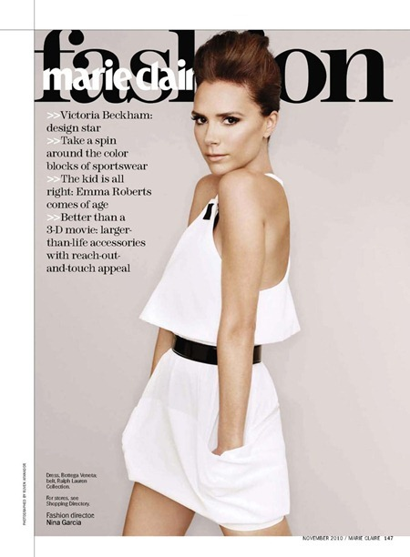 MARIE CLAIRE MAGAZINE Victoria Beckham in Victoria's Secrets by Ruven Afanador, Alison Edmond, November 2010, www.imageamplified.com, Image Amplified (5)