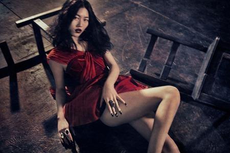 MUSE MAGAZINE Liu Wen in Dynasty by Sebastian Kim. Katie Mossman, Fall 2010, www.imageamplified.com, Image Amplified (7)