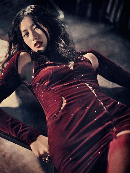 MUSE MAGAZINE Liu Wen in Dynasty by Sebastian Kim. Katie Mossman, Fall 2010, www.imageamplified.com, Image Amplified (5)