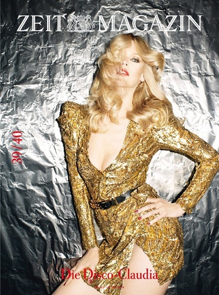 ZEIT MAGAZINE Claudia Schiffer in 40th Anniversary, 40 Covers by Frederike Helwig. 2010, www.imageamplified.com, Image Amplified (27)