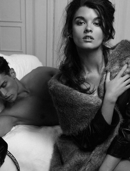 CAMPAIGN Baptiste Giabiconi & Crystal Renn for SoHo Chanel Reopening by Karl Lagerfeld. www.imageamplified.com, Image Amplified (2)