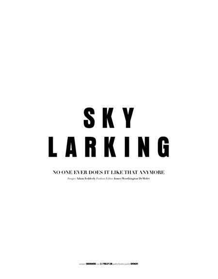THE BLOCK MAGAZINE Cole Mohr in Sky Larking by Adam Fedderly. James Worthington DeMolet, www.imageamplified.com, Image Amplified (8)