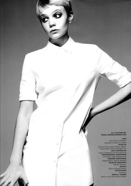 WONDERLAND MAGAZINE Carey Mulligan by Ben Weller. Image Amplified www.imageamplified (6)