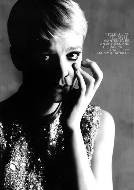 WONDERLAND MAGAZINE Carey Mulligan by Ben Weller. Image Amplified www.imageamplified (2)