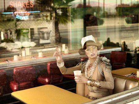 HARPER'S BAZAAR SINGAPORE Milla Jovovich by Simon Upton. Image Amplified www.imageamplified (2)