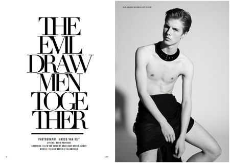 UMAG Eli & Marko in The Evil Draw Men Together by Marco van Rijt. Image Amplified www.imageamplified (1)