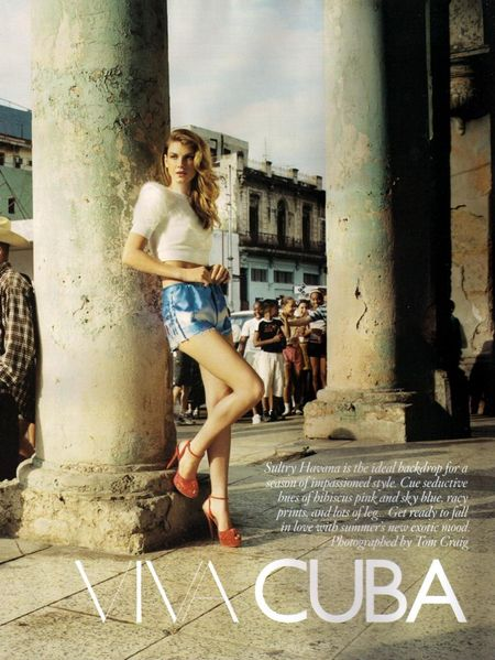 VOGUE UK Angela Lindvall in Viva Cuba by Tom Craig. www.imageamplified.com, Image Amplified (11)