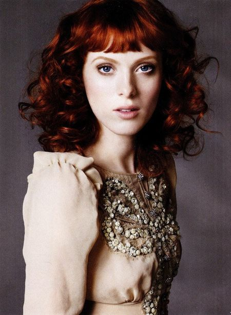 MARIE CLAIRE MAGAZINE Karen Elson in Showgirl by Simon Burstall. www.imageamplified.com, Image Amplified (3)