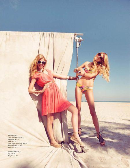 H&M MAGAZINE Lindsay Ellingson & Skye Stracke by Benjamin Alexander Huseby. www.imageamplified.com, Image Amplified (6)