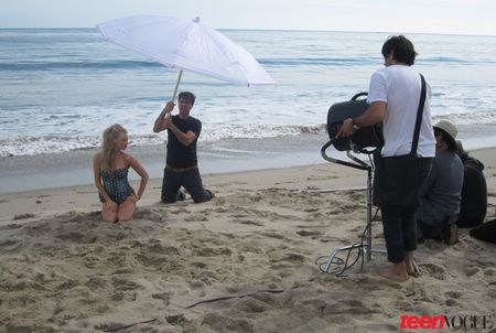 BEHIND THE SCENES Amanda Seyfried for JuneJuly's Teen Vogue by Patrick Demarchelier. www.imageamplified.com, Image Amplified (3)