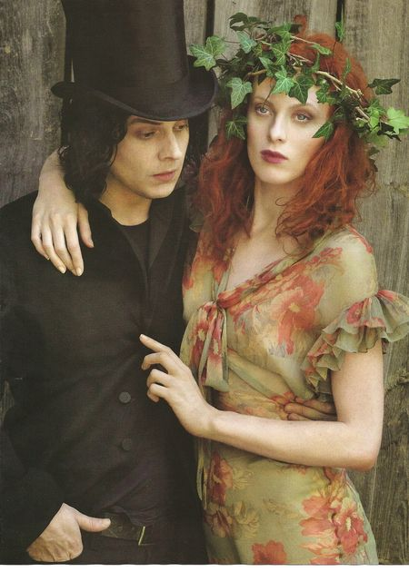VOGUE Karen Elson & jack White in Frock & Roll by Annie Leibovitz. www.imageamplified.com, Image Amplified (8)