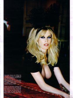 VOGUE GERMANY Claudia Schiffer in Blondshell! Ellen von Unwerth. www.imageamplified.com, Image Amplified (10)