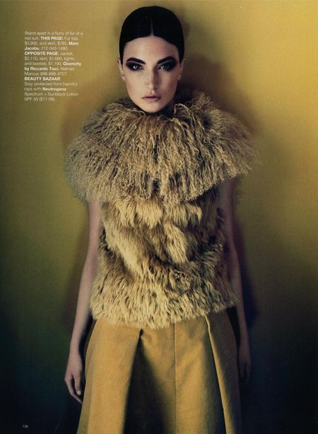 HARPER'S BAZAAR MAGAZINE Jacquelyn Jablonski in What's Next by Camilla Akrans. www.imageamplified (10)