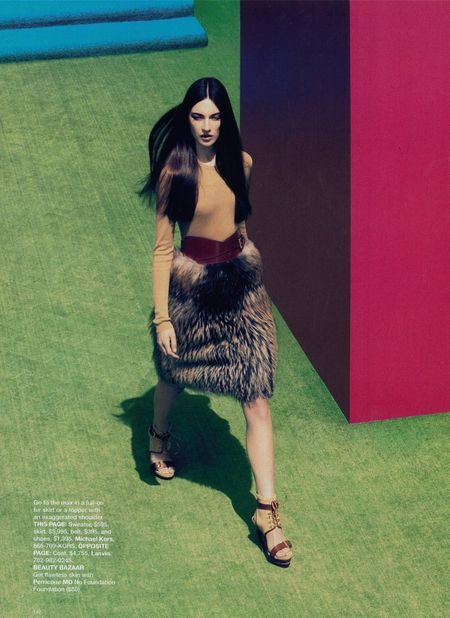 HARPER'S BAZAAR MAGAZINE Jacquelyn Jablonski in What's Next by Camilla Akrans. www.imageamplified (4)