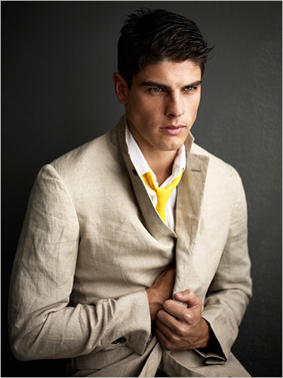 The new york times evandro soldati in khaki with an urban edge by