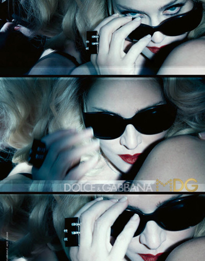 CAMPAIGN Madonna & Tyson Ballou for Dolce & Gabbana MDG Eyewear by Steven Klein. www.imageamplified.com, Image Amplified (3)